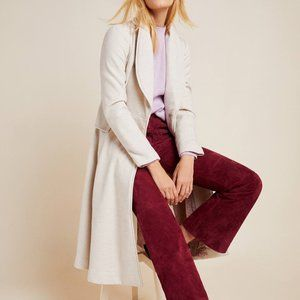 HTF Anthropologie Evaline Textured Coat